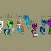Chibi stormlight ponies