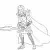 Bastille knight of Crystallia outline