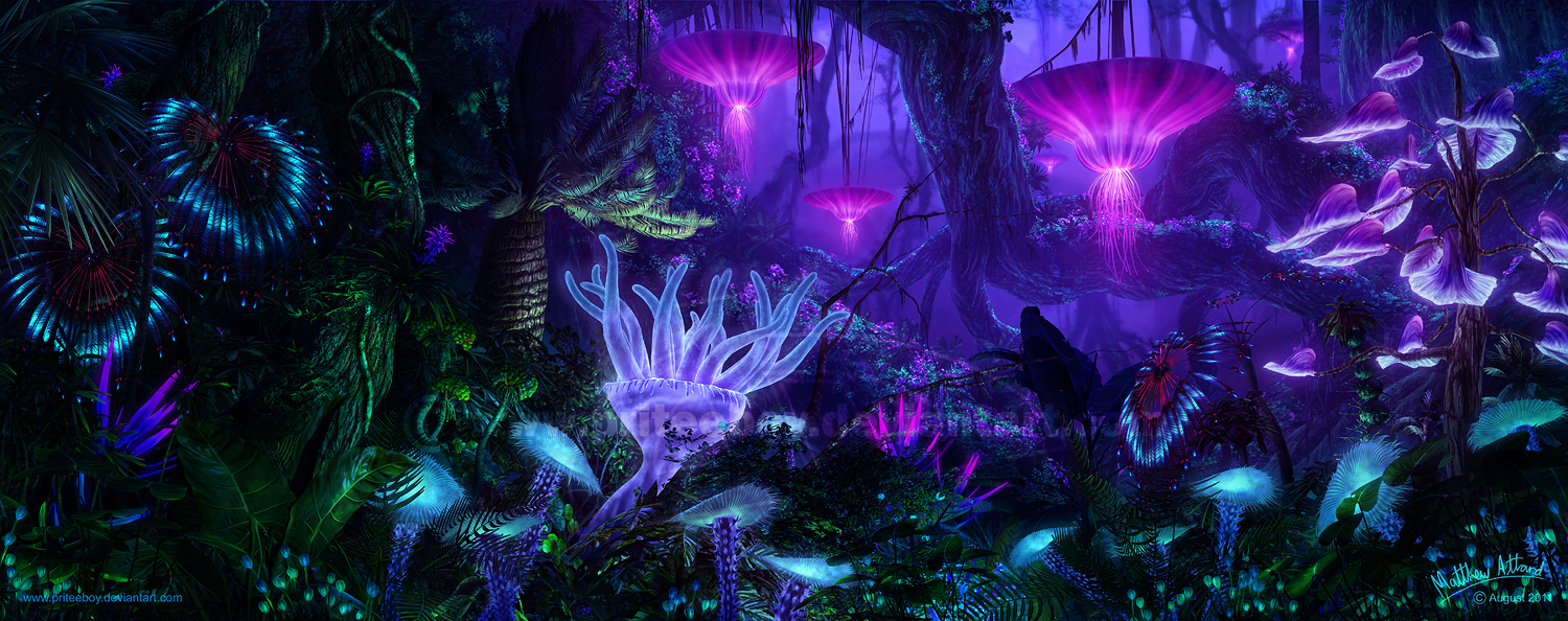 Darkside Plants Like Pandora In Avatar
