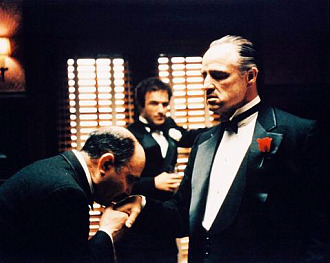 Godfather kissing hand Blank Template - Imgflip