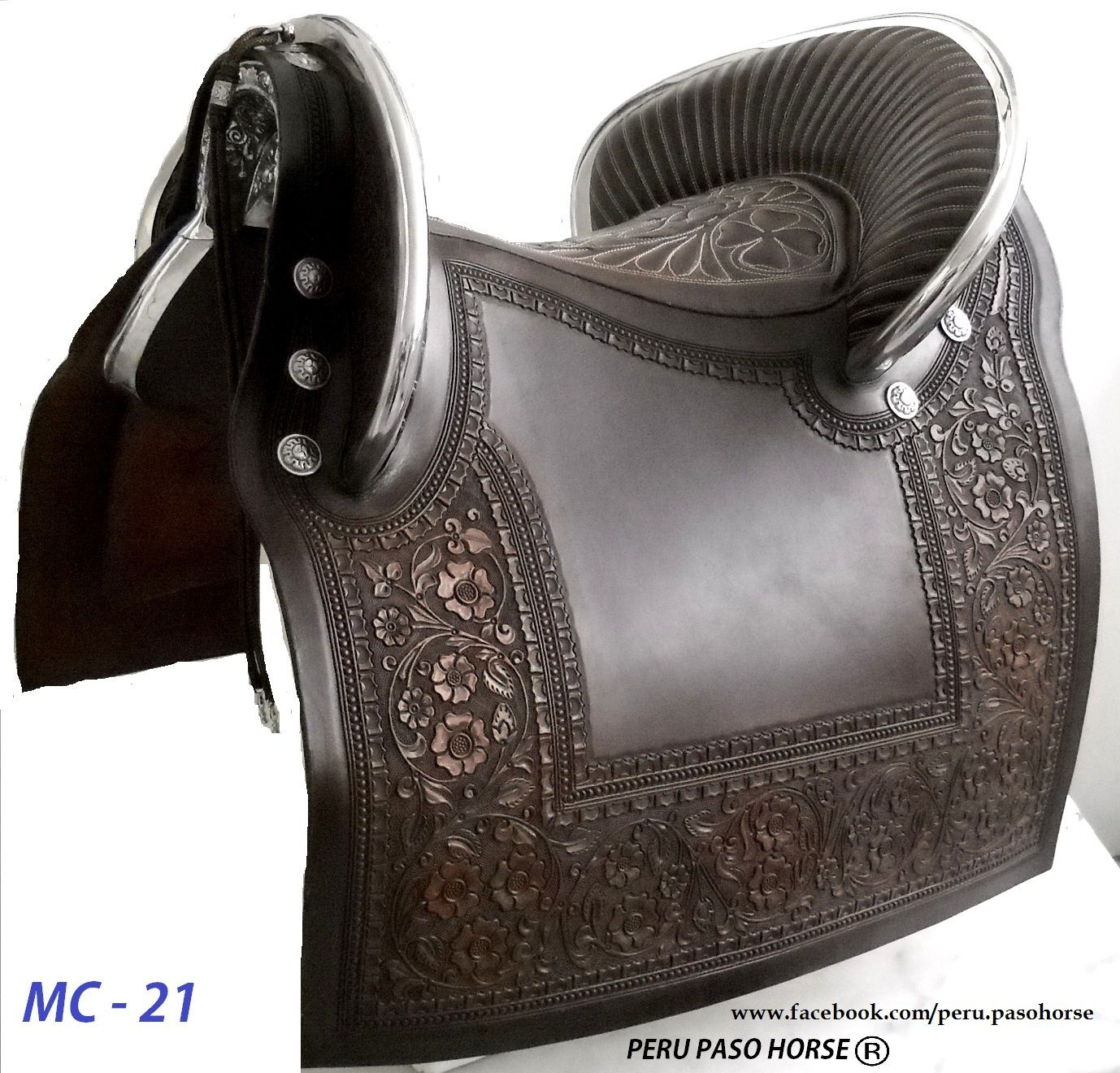 Black Saddle for Peruvian Paso Horse Available in other colors ...