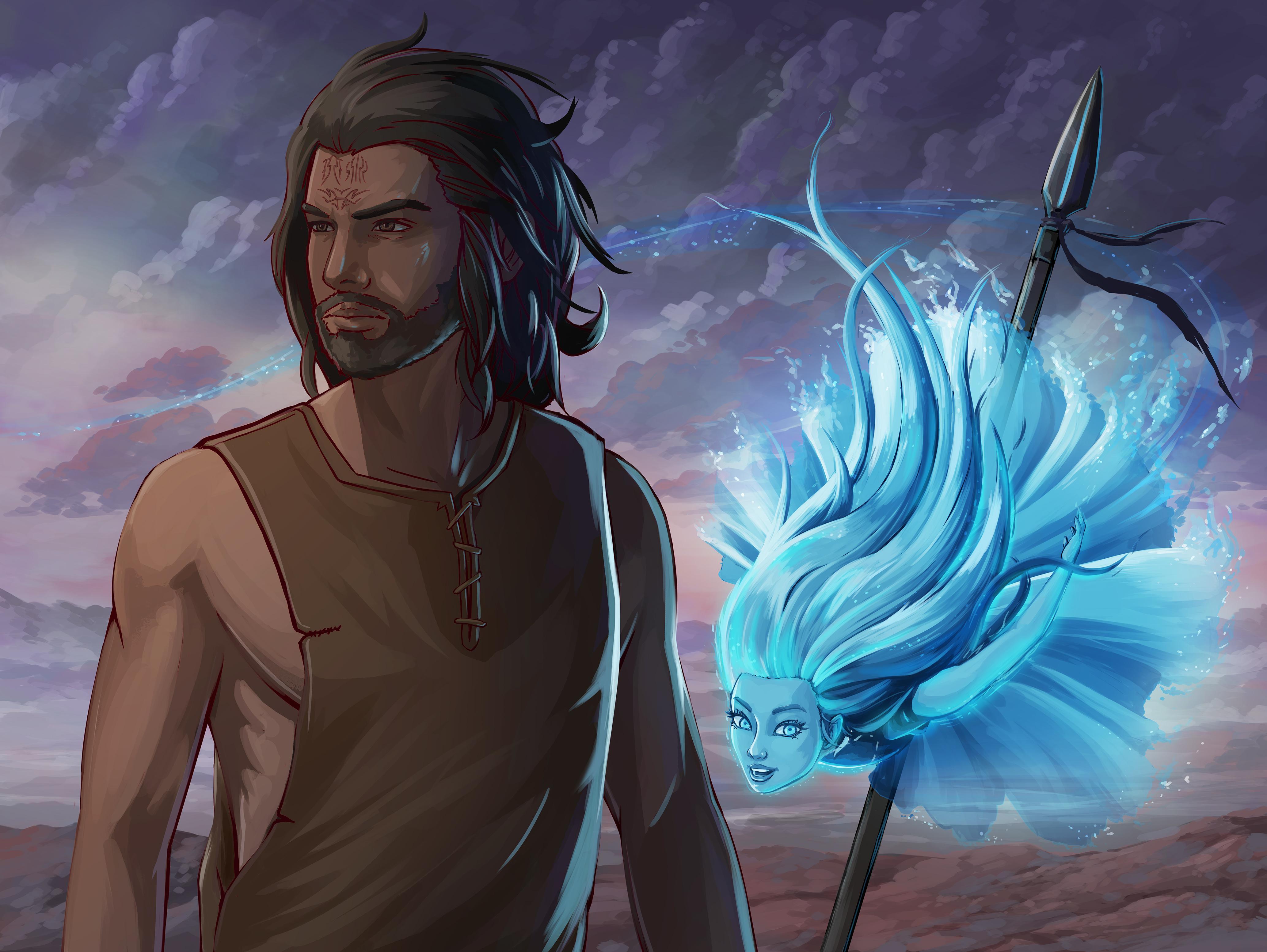 Kaladin & Syl : Stormlight_Archive