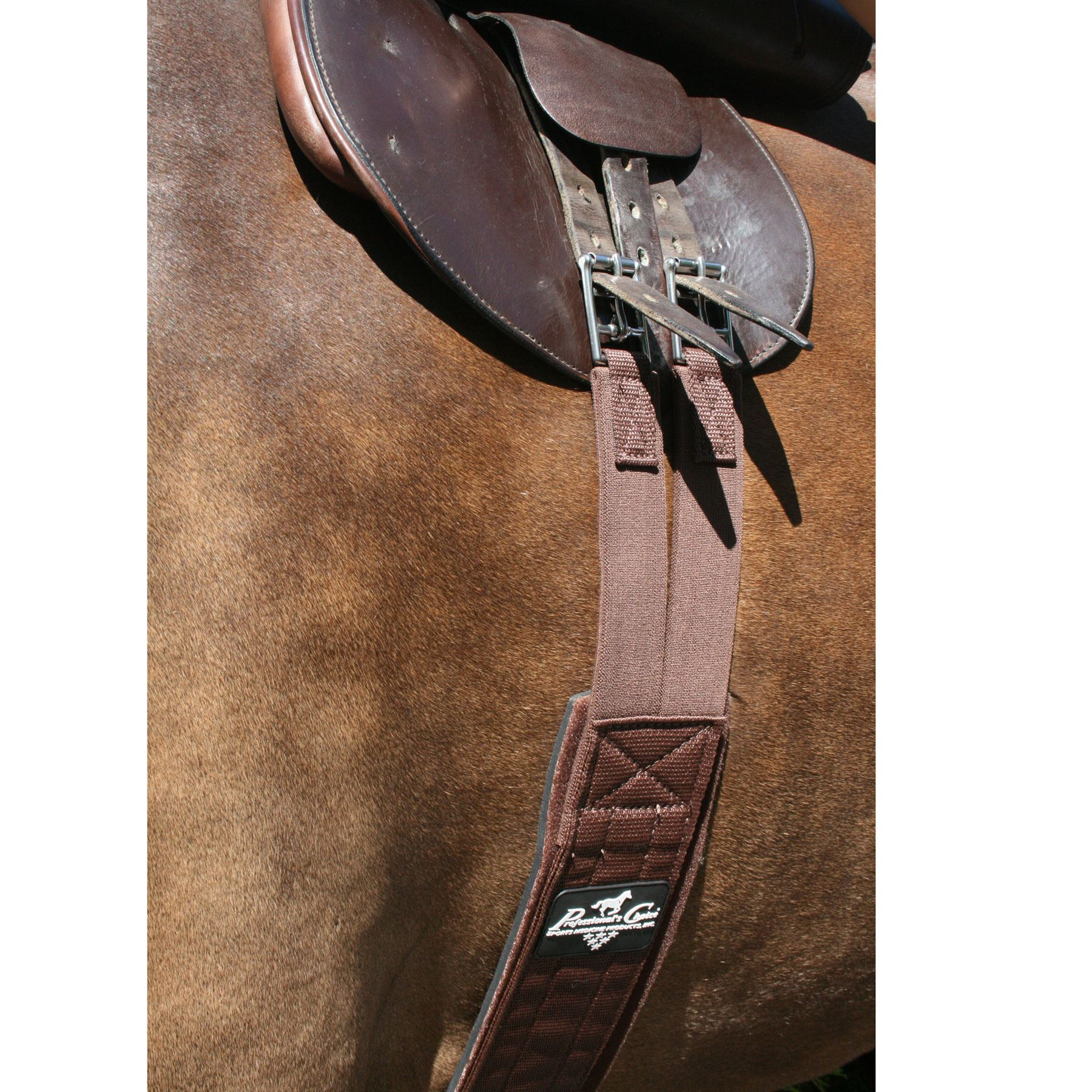 Professional's Choice SMx Brown English Girth | Schneiders Saddlery