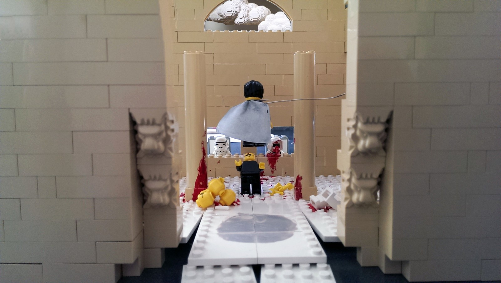 Legoheart vs Deathlego