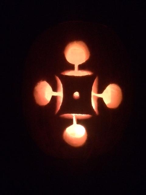 Rao-o-Lantern, Flame Illuminated