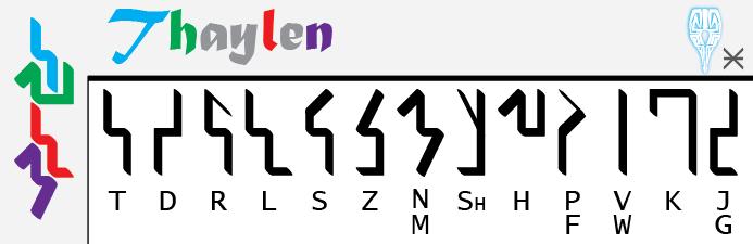 Thaylen Translation Key