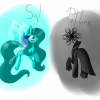 Pattern and Syl ponies