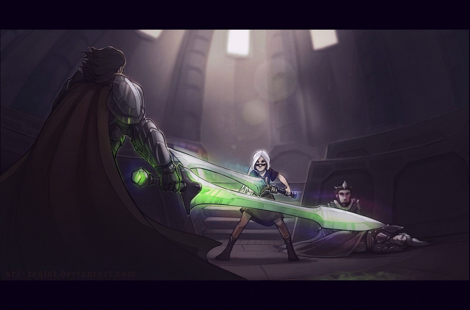 Vs the Knights of Crystallia