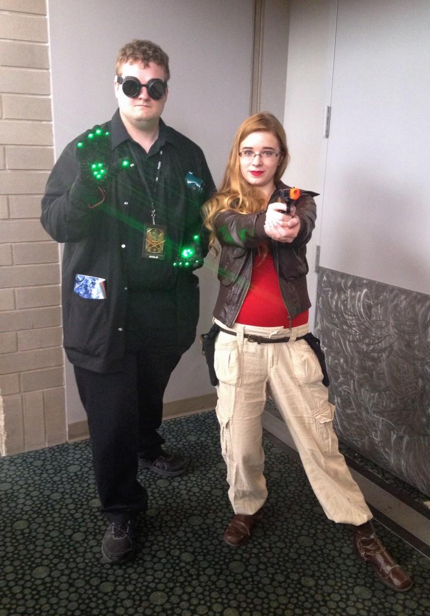 Prof and Megan at Salt Lake Comic Con