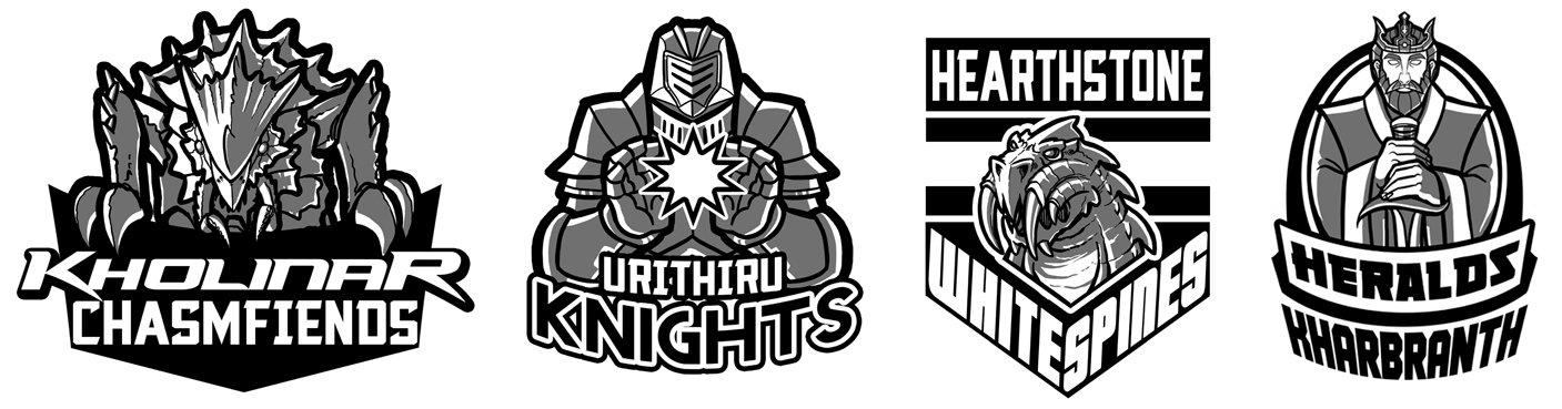 Rosharan Sports Logos