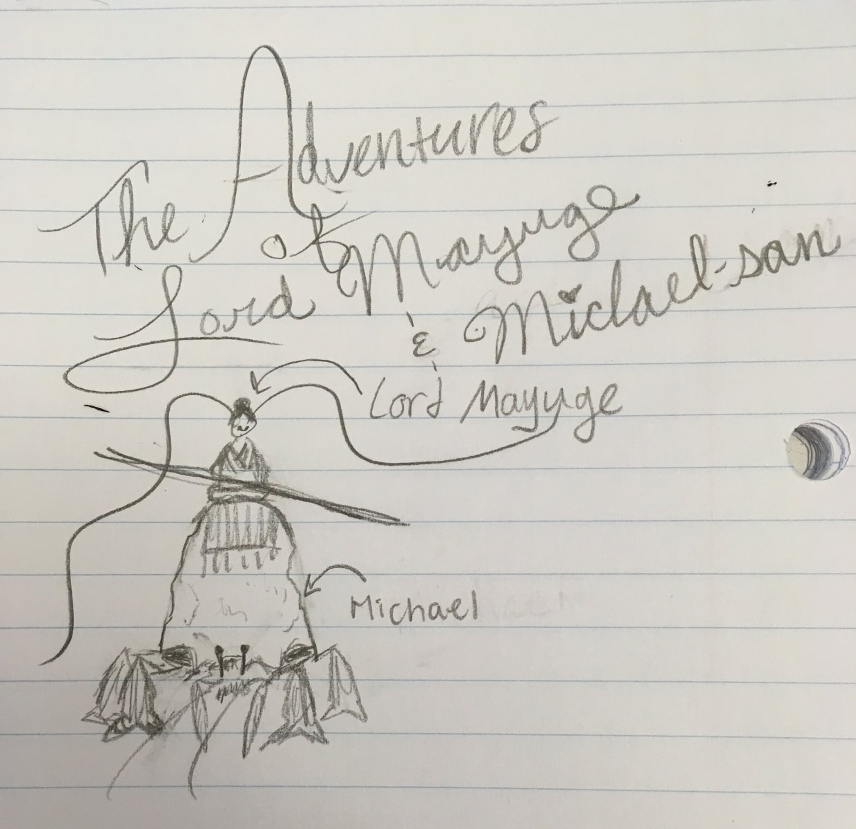 Title: The Adventures of Lord Mayuge and Michael-san