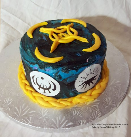 Cosmere Cake 17th Shard The Official Brandon Sanderson