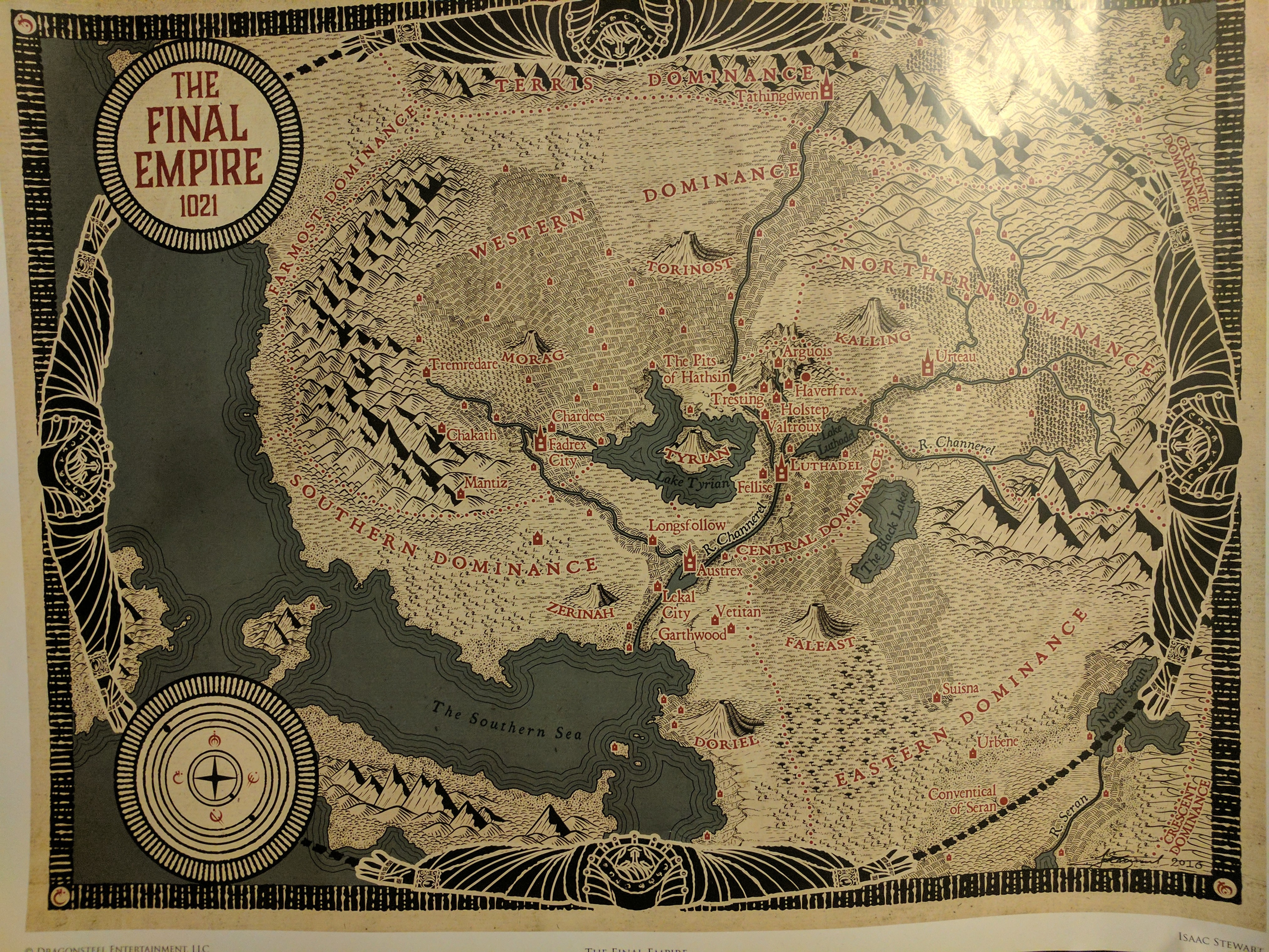 Image result for mistborn map