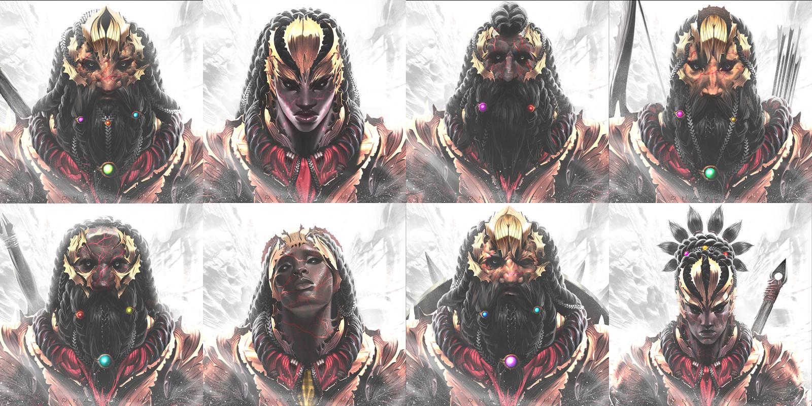Parshendi Faces