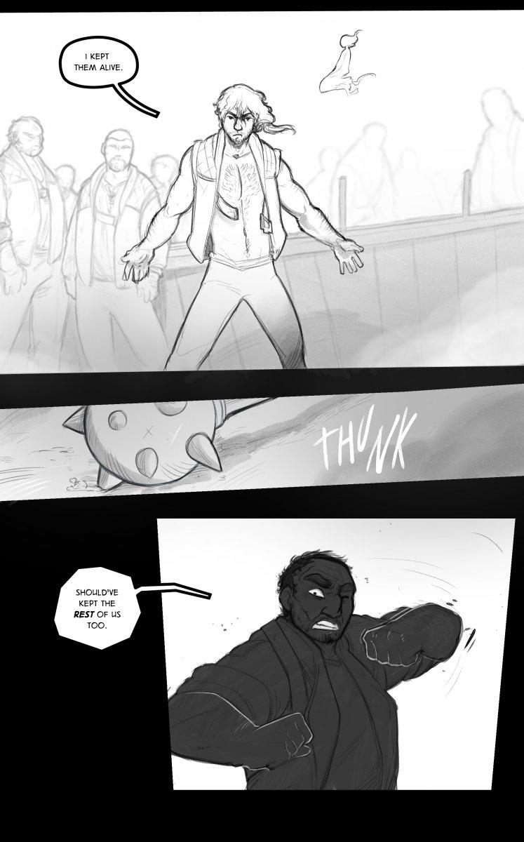 Gaz Redemption AU comic - page 18
