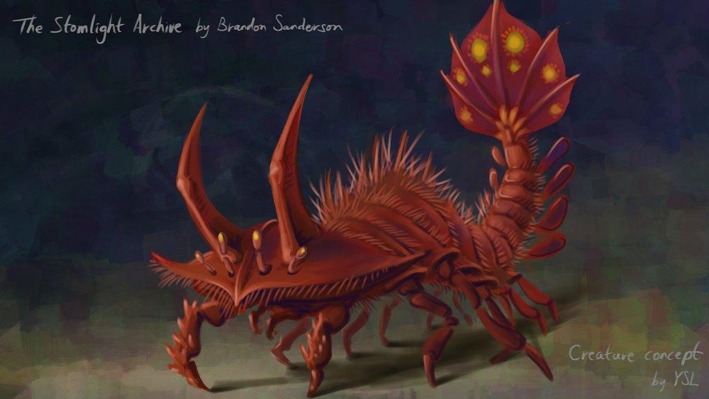A Rosharan Creature