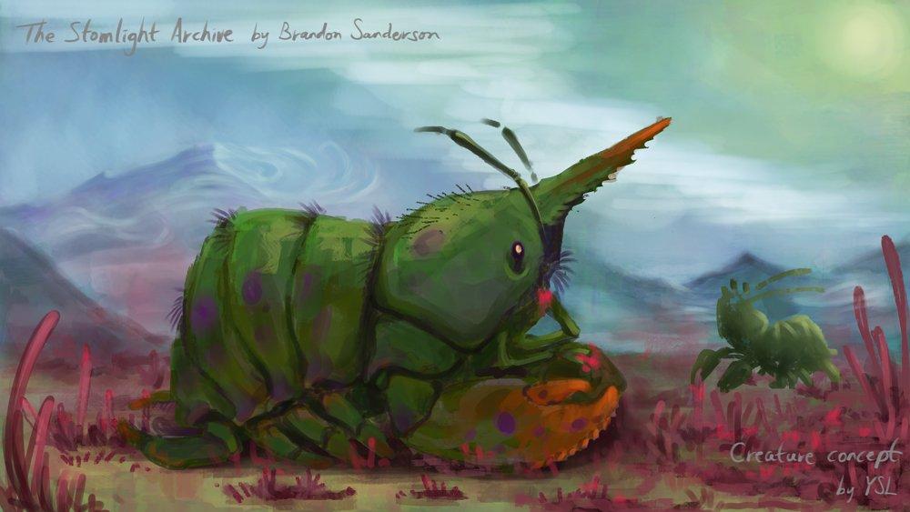 A Rosharan critter