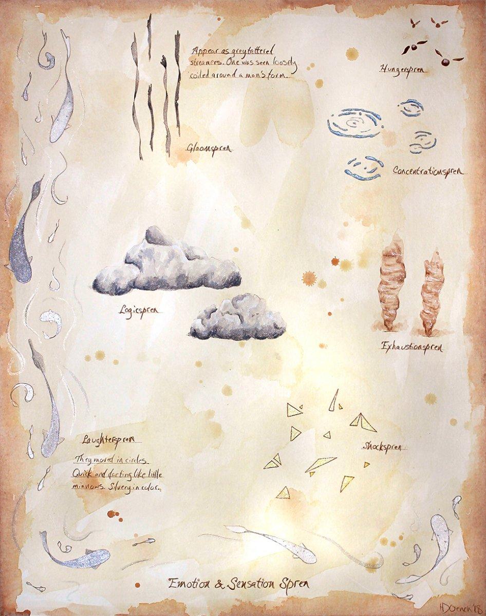 Spren by The Watercolor Naturalist