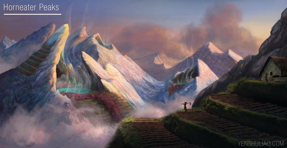 The Horneater Peaks