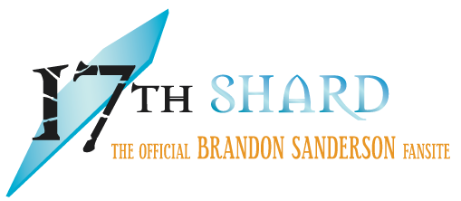 17th Shard, the Official Brandon Sanderson Fansite