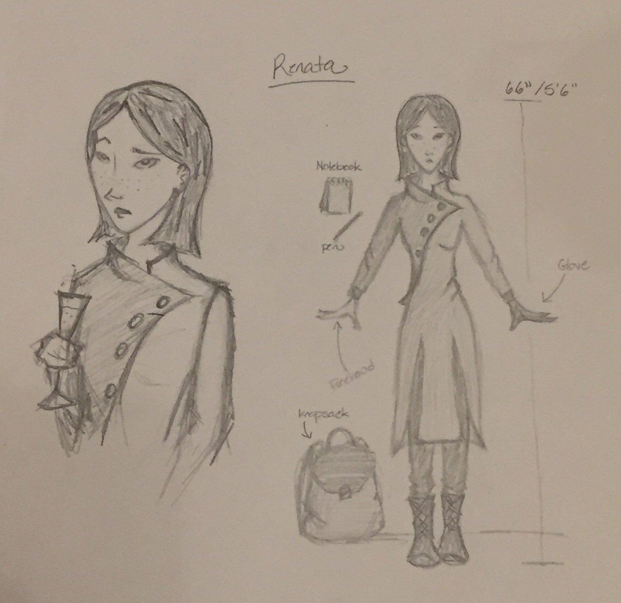 Renata Outfit Design