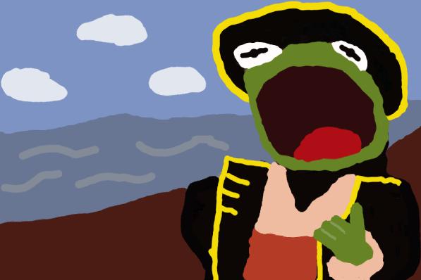 Terror Cap'n Kremit
