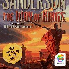 Pixel Sanderson Book Covers