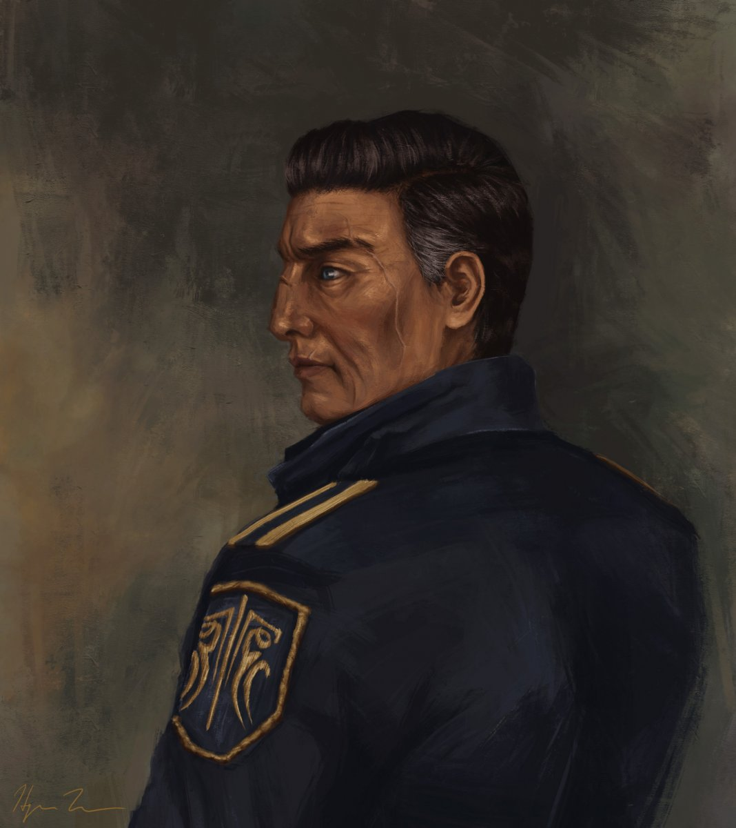 Dalinar Kholin - portrait