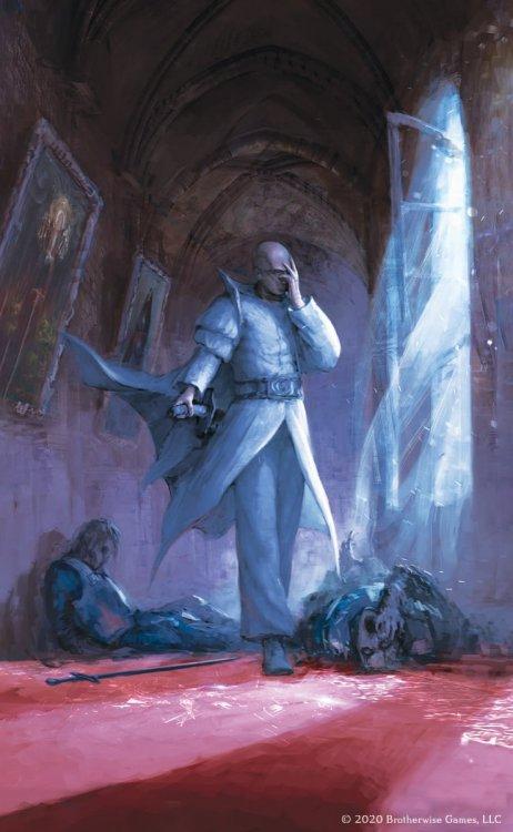 Reluctant Assassin, by Art Dem