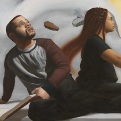 Cosmic Tales Painting