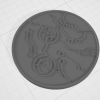 3D Render of a Medallion