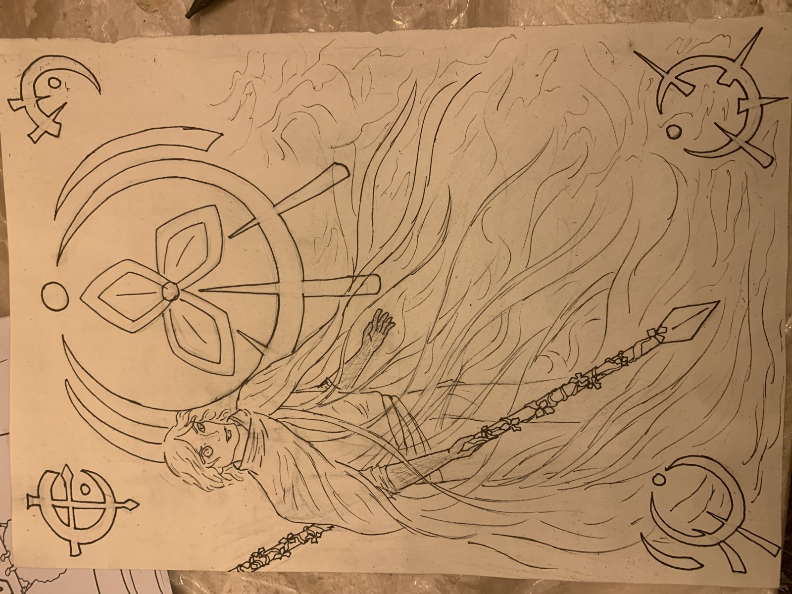Survivorist art inked