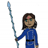 Kaladin and his sylspear