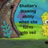 Shallan's drawing ability