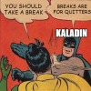 Kaladin's view on rest